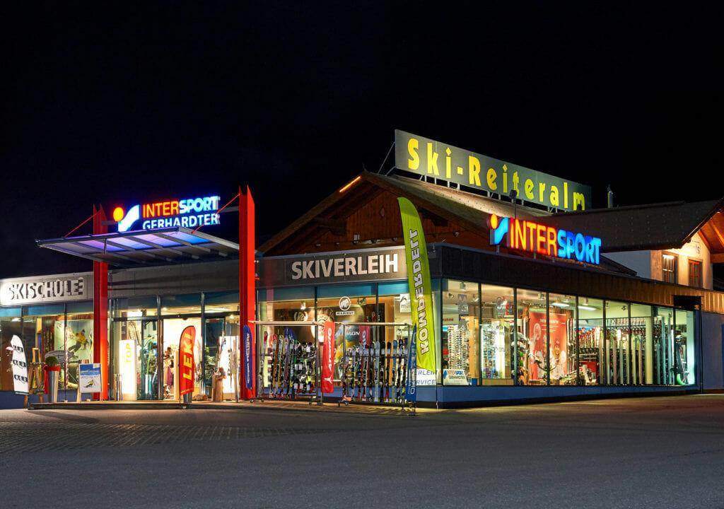 Skiverleih Talstation Reiteralm – Gondelbahn